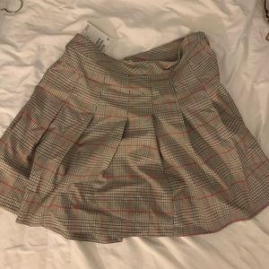 H&M school girl mini skirt